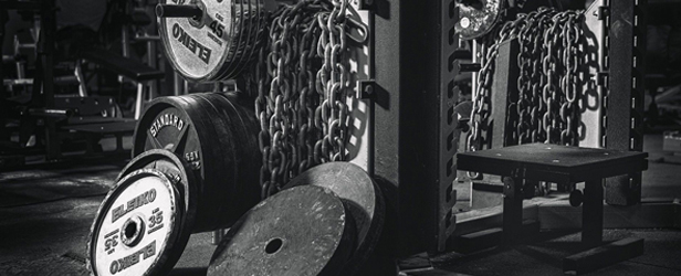 Chains Box Squat by Chris McClarence